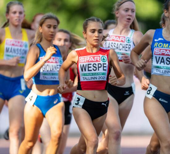 Livia Wespe - U20 Tallinn